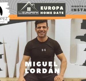 Miguel Lordán en Europa Home Date