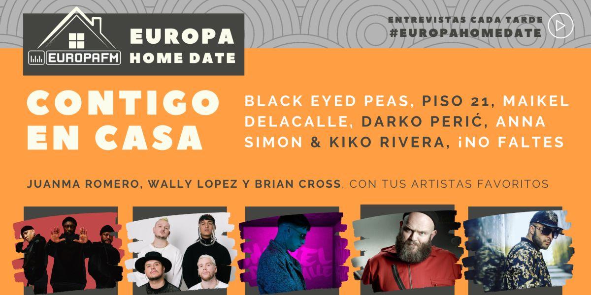 Black Eyed Peas, Piso 21 o Darko Perić, en Europa Home Date