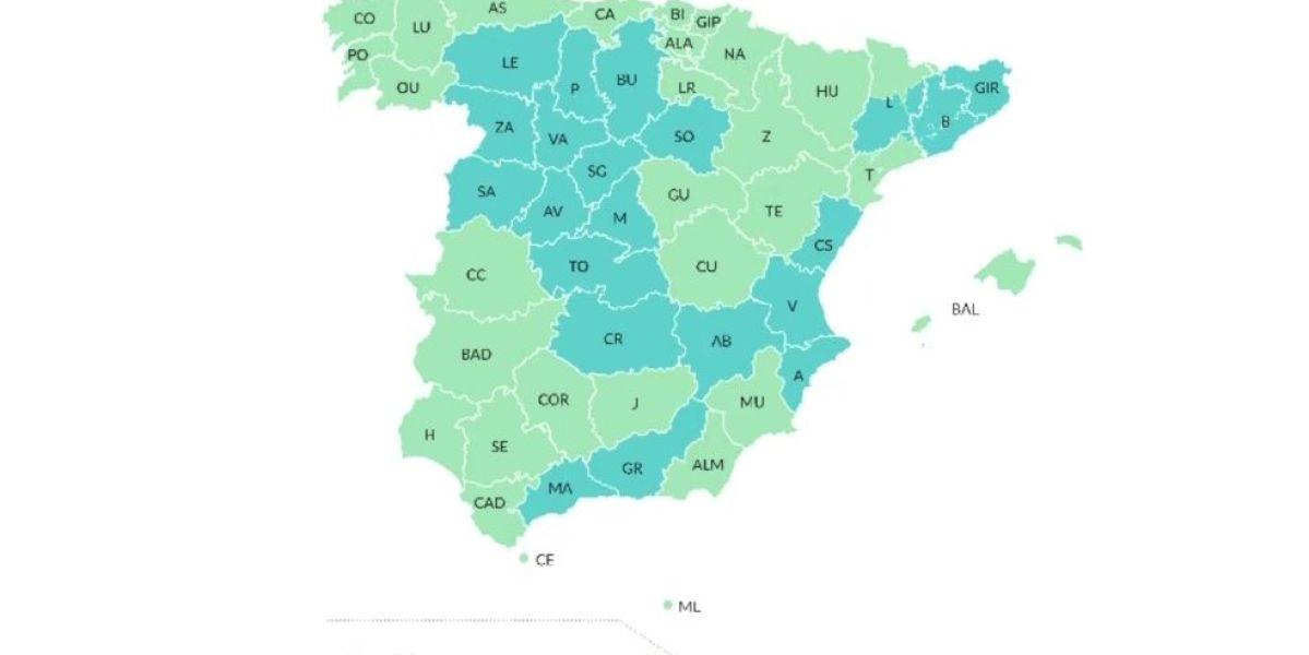 Mapa fases desescalada coronavirus España: ¿A qué fase pasa tu provincia?