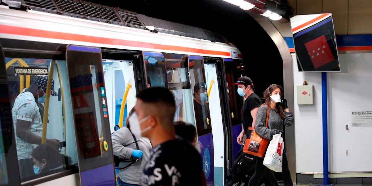 Imagen de archivo del Metro de Madrid