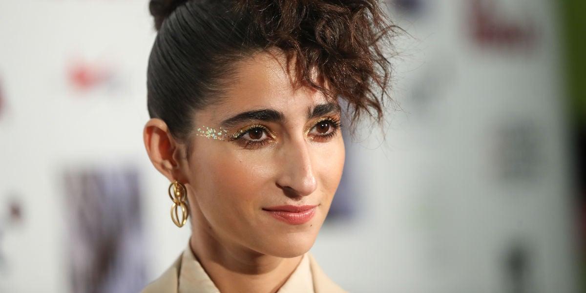 La actriz Alba Flores