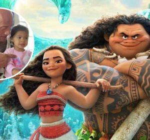 Dwayne Johnson es Maui en 'Vaiana'