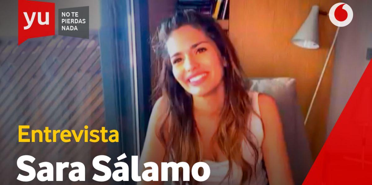 Sara Sálamo en 'yu'