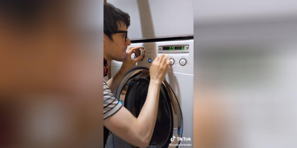 El youtuber Kurt Schneider versiona la banda sonora de Harry Potter con una lavadora