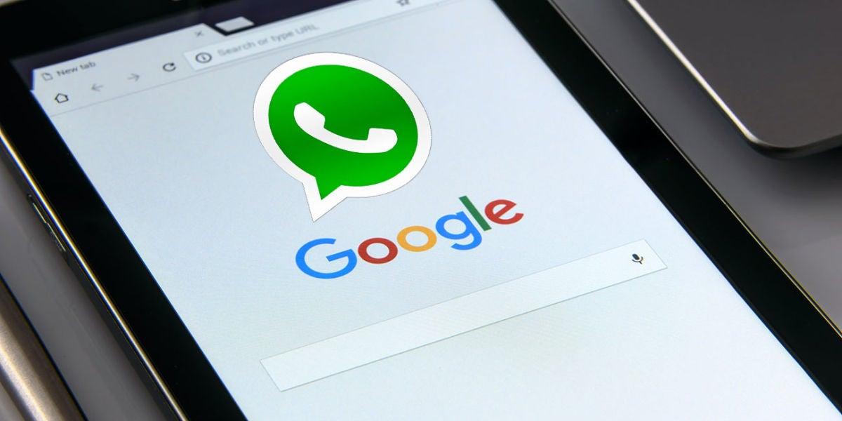 WhatsApp y el buscador de Google