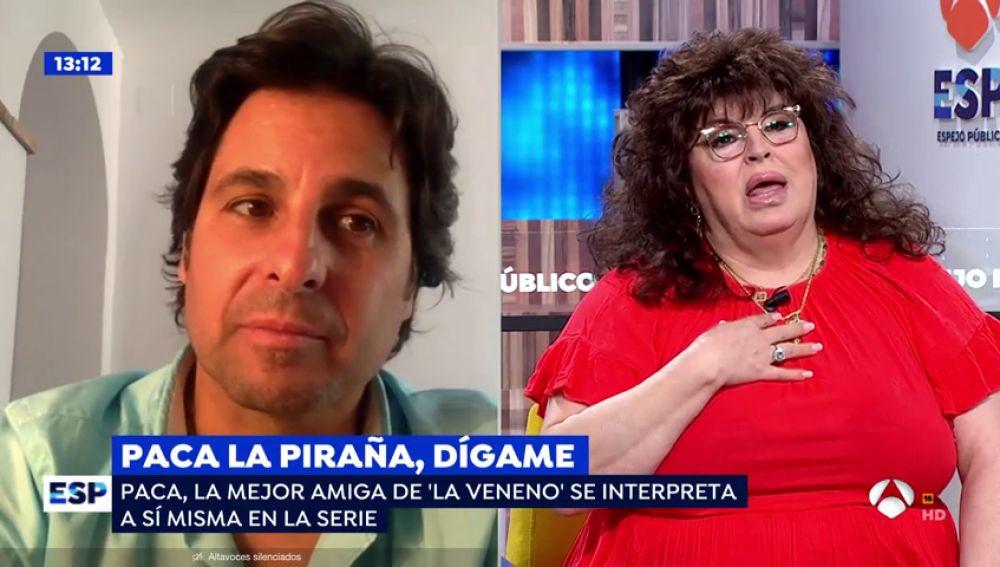 """Paca La piraña, a Fran Rivera: """"Soñé que me llevabas a caballo"""""""