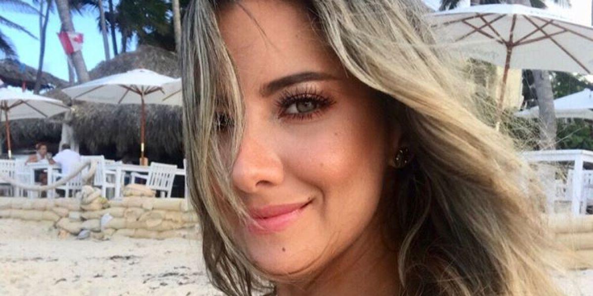La modelo Daniella Álvarez