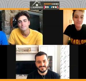 Meet & greet virtual con Marlon, Juanma Romero y la ganadora del concurso, Laura