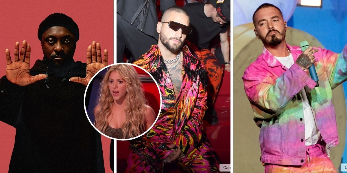 ¿Se están riendo J Balvin, Maluma y Will.I.Am de Shakira?