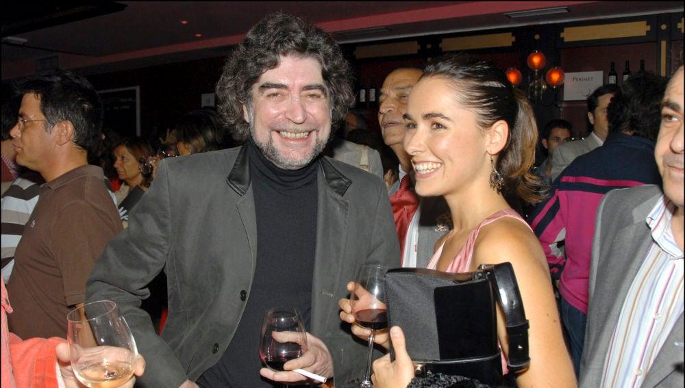 Joaquín Sabina y Jimena Coronado en 2006