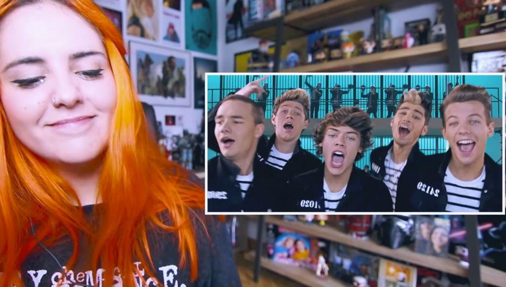 Andrea Compton comenta los inicios y videoclips de One Direction