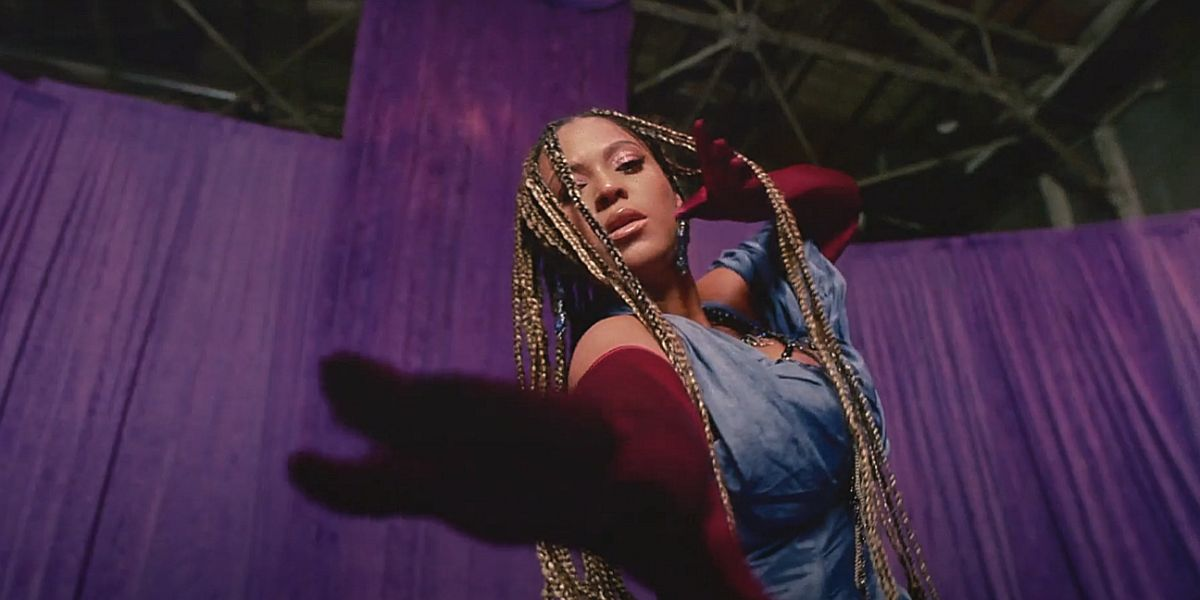 Beyoncé en el tráiler de 'Black Is King'