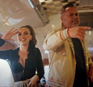 María Isabel y Juan Magán en el videoclip de 'Esa Carita'