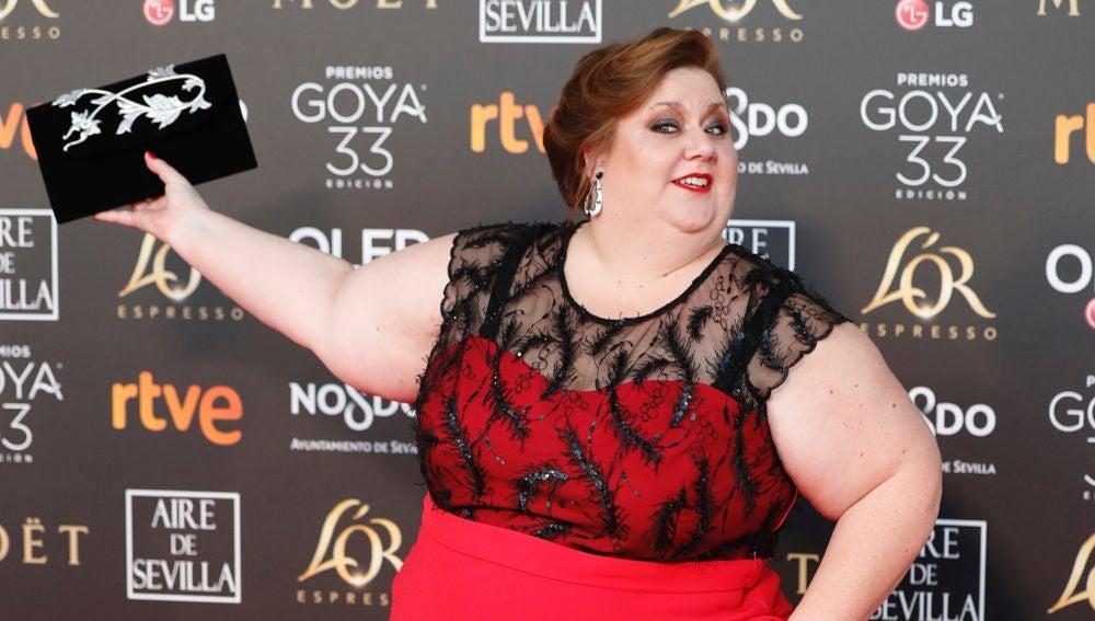 La actriz Itziar Castro