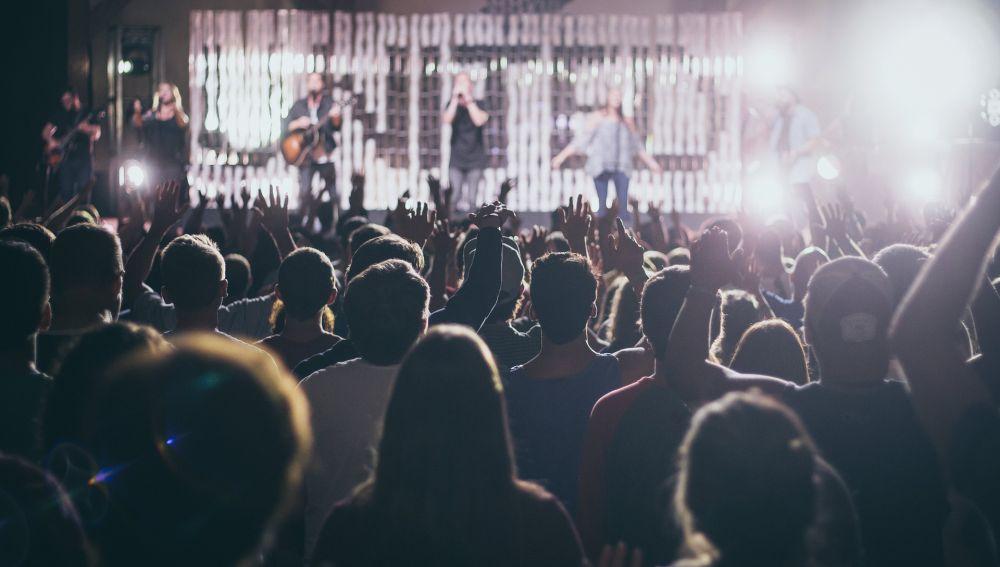 Público en un concierto