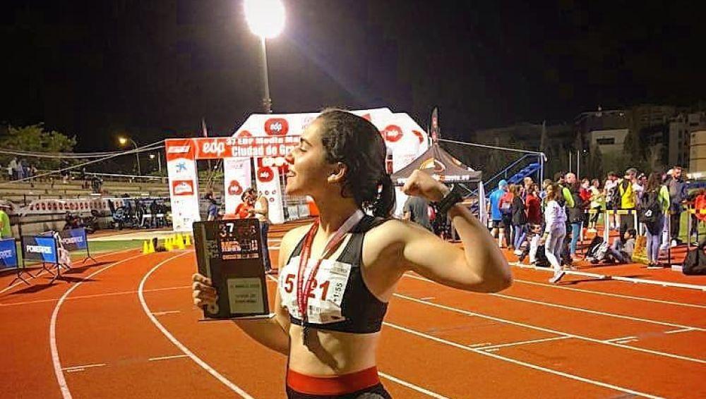 La atleta y entrenadora granadina, Claudia Hernández Rey