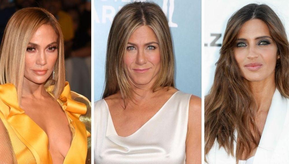 J.Lo, Jennifer Aniston y Sara Carbonero