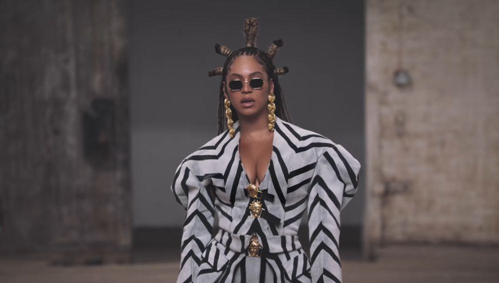 Beyoncé en el vídeo de 'ALREADY'