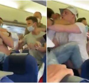 Brutal pelea dentro de un avión en pleno vuelo de Amsterdam a Ibiza por el uso de la mascarilla