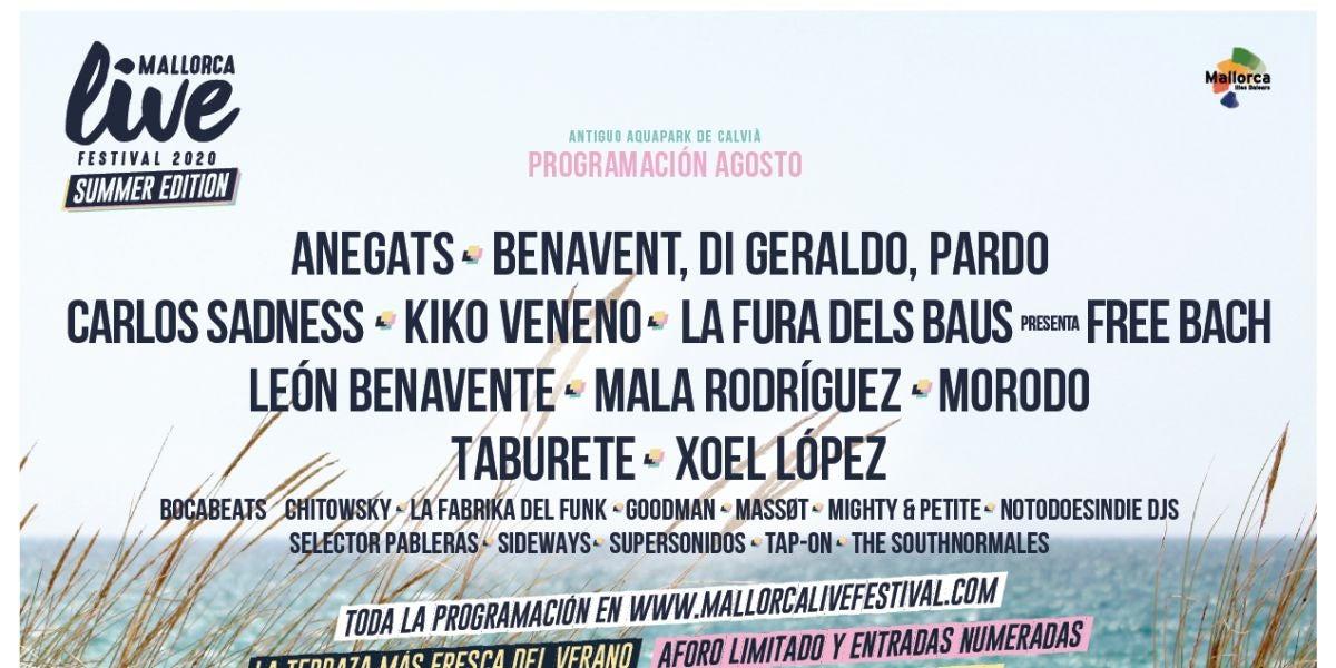 Cartel del Mallorca Live Fest Summer Edition