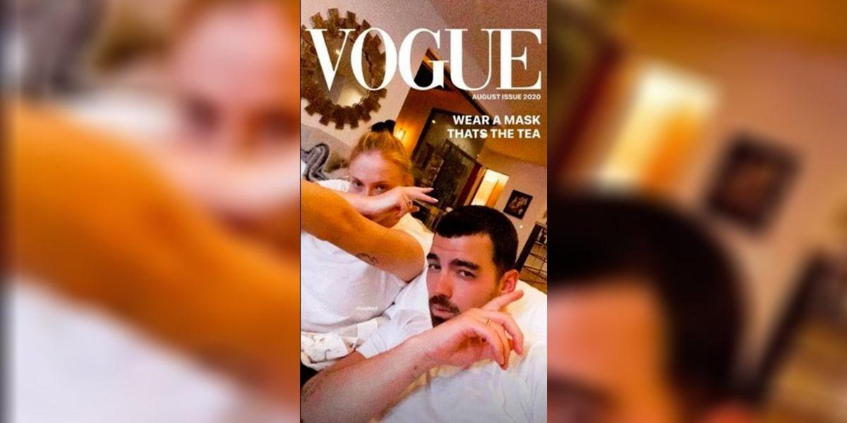 La primera foto de Joe Jonas y Sophie Turner tras ser padres