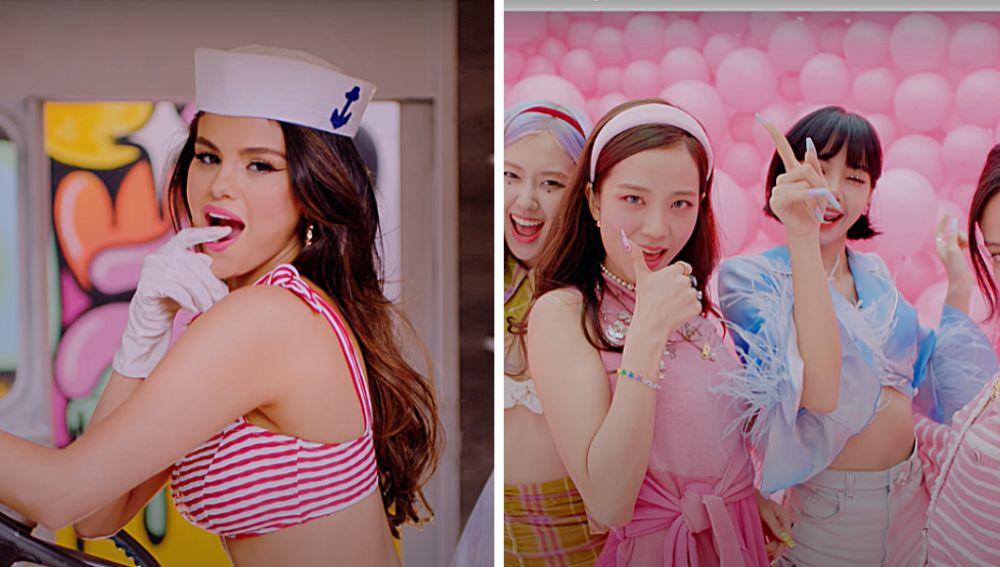 Selena Homez y BLACKPINK lanzan 'Ice Cream'