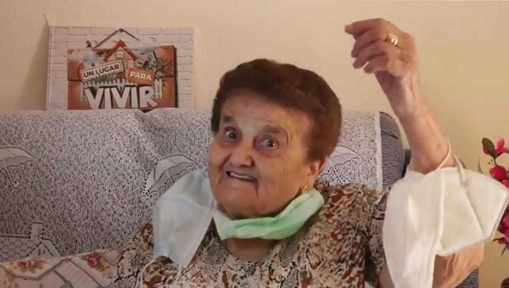 El importante mensaje de la abuela Rosario que se ha vuelto viral