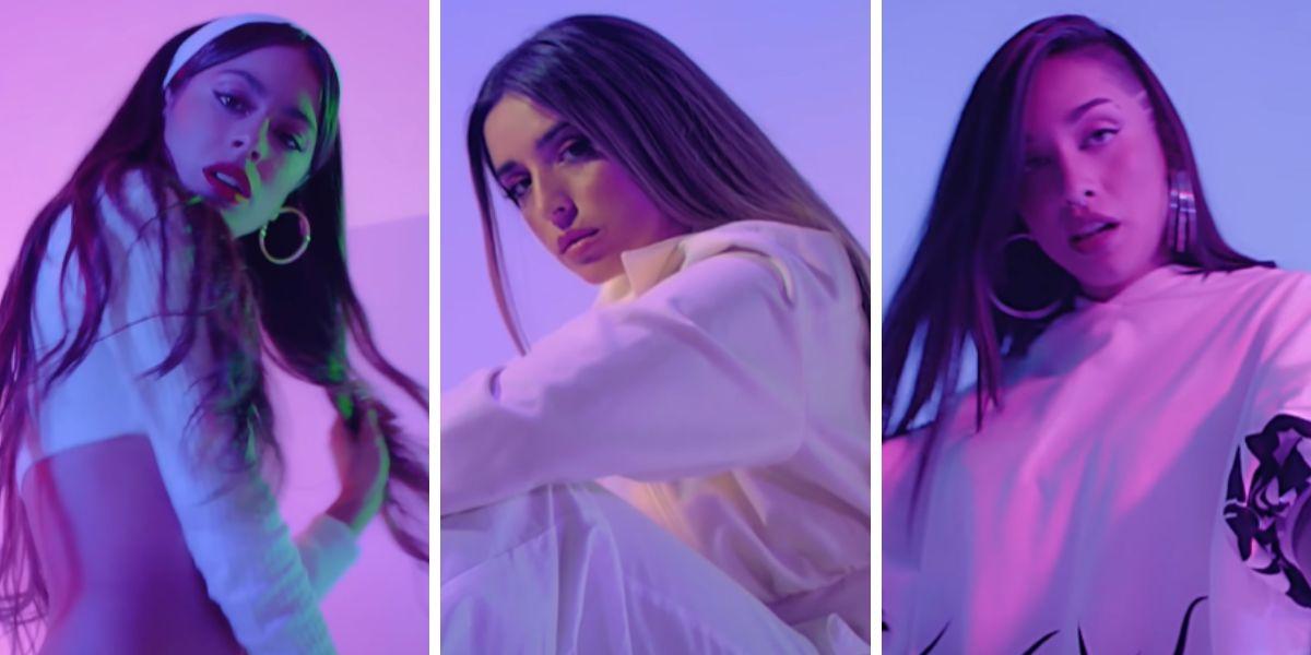 Tini Stoessel, Lola Indigo y María Becerra se unen en el remix de 'High'