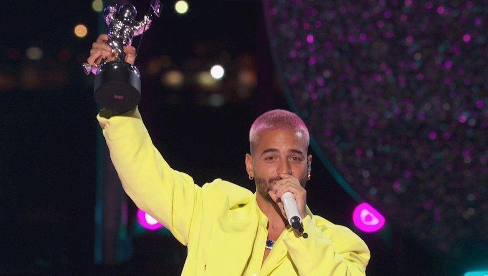 Maluma en los MTV VMAs 2020