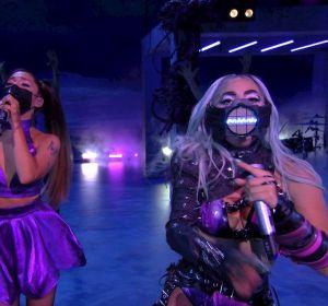 Lady Gaga y Ariana Grande en los MTV VMAs 2020