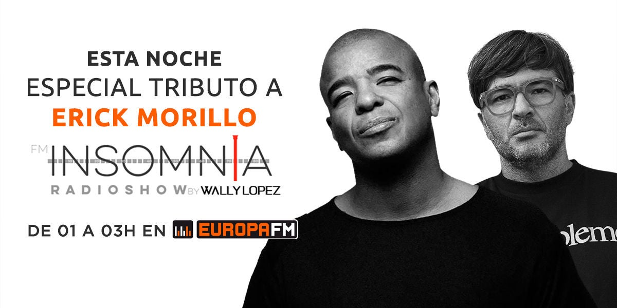 Tributo a Erick Morillo en Insomnia Radioshow