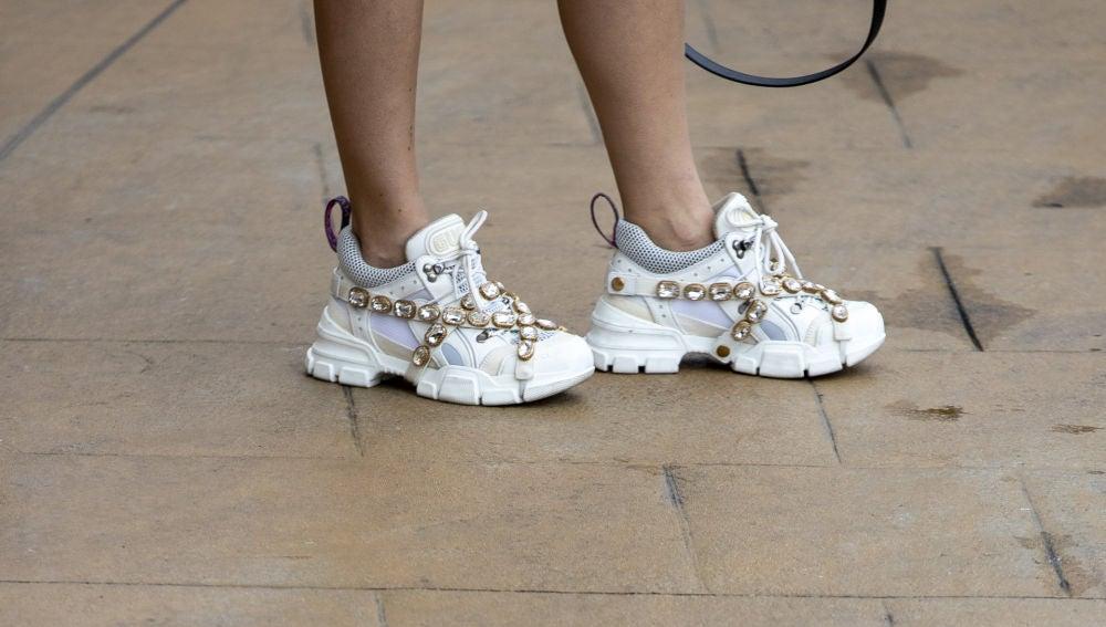 Las zapatillas Gucci de Blanca Suárez