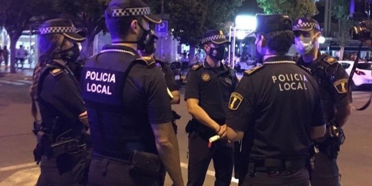 Policía Local del servicio nocturno