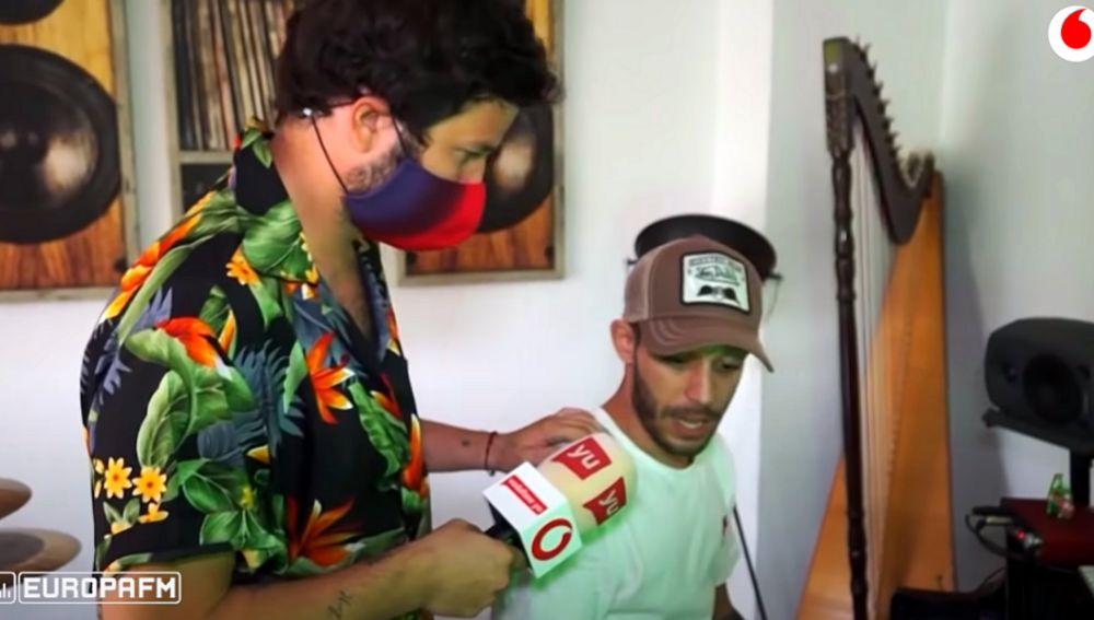 Victor Elías 'Guille' junto a Willy Bárcenas en 'yu, no te pierdas nada'