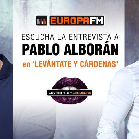 Entrevista a Pablo Alborán en Levántate y Cárdenas