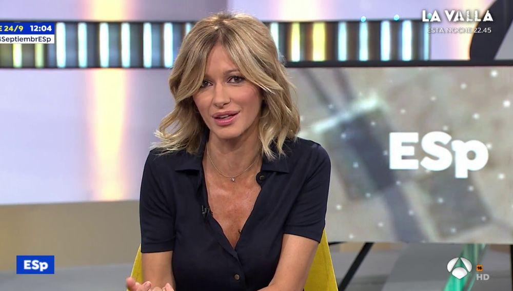 Susanna Griso en 'Espejo Público'