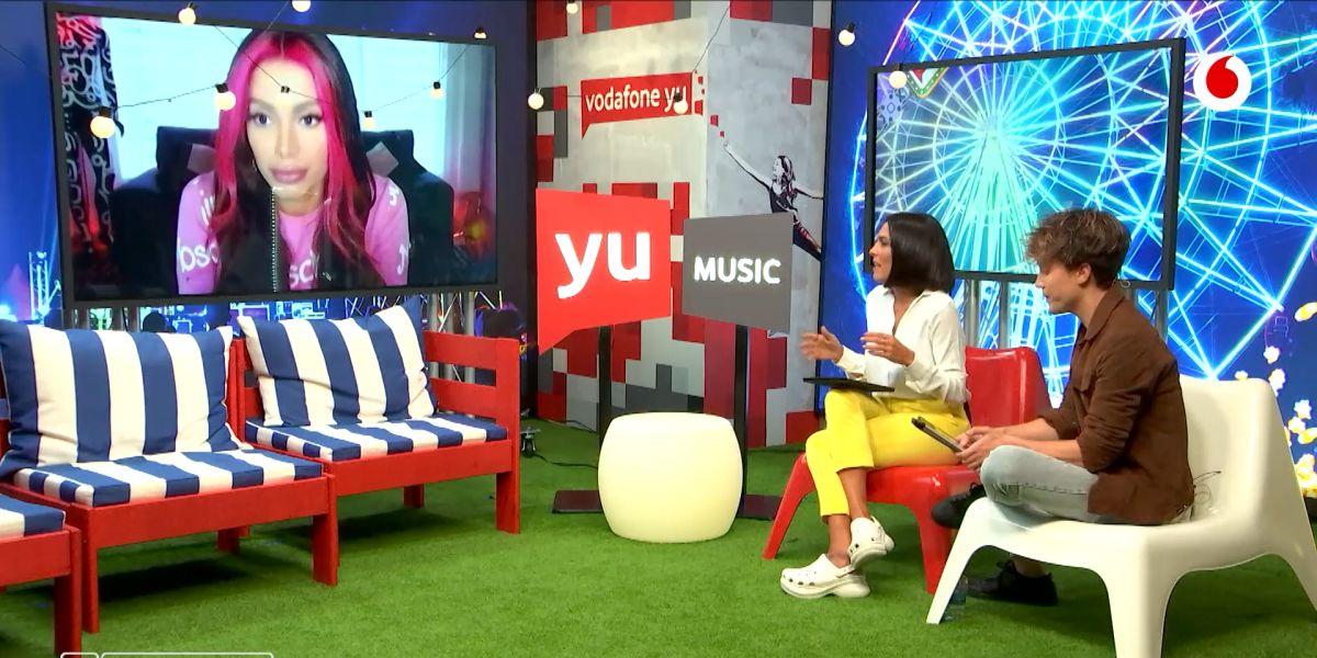 Anitta en 'yu Music'