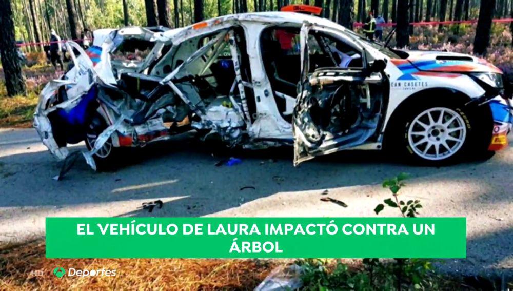 Deportes Antena 3 (11-10-20) Muere Laura Salvo, copiloto española de 21 años, en un accidente en un Rally de Portugal