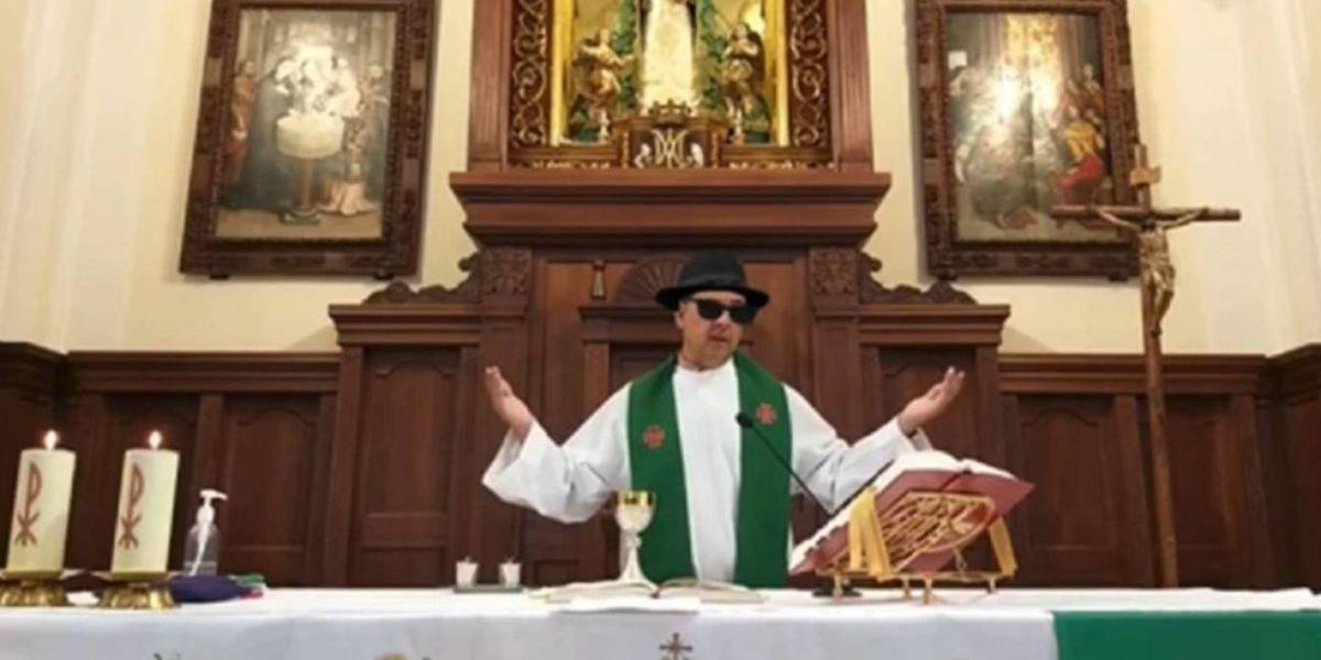 Imagen del párroco