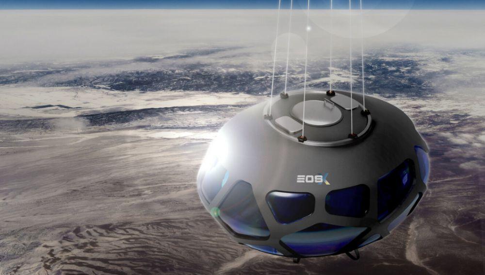 Viajar al espacio en cápsula