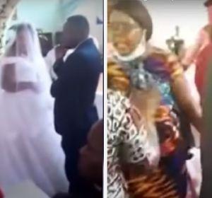 Irrumpe una boda porque su marido se está casando con otra mujer