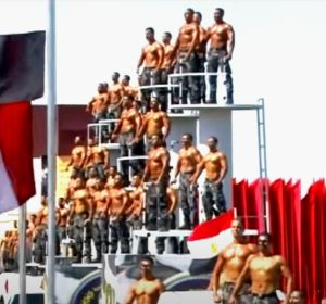 Desfile de graduación de la Policía de Egipto