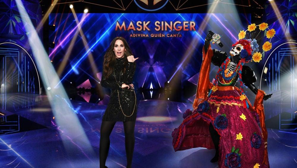 Malú, investigadora de 'Mask Singer: adivina quién canta'