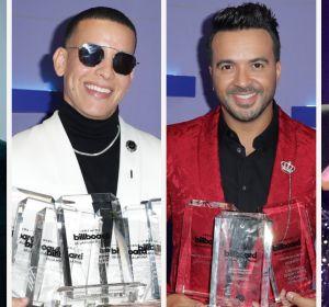 Pablo Alborán, Daddy Yankee, Luis Fonsi y Bad Bunny en los Latin Billboard 2020