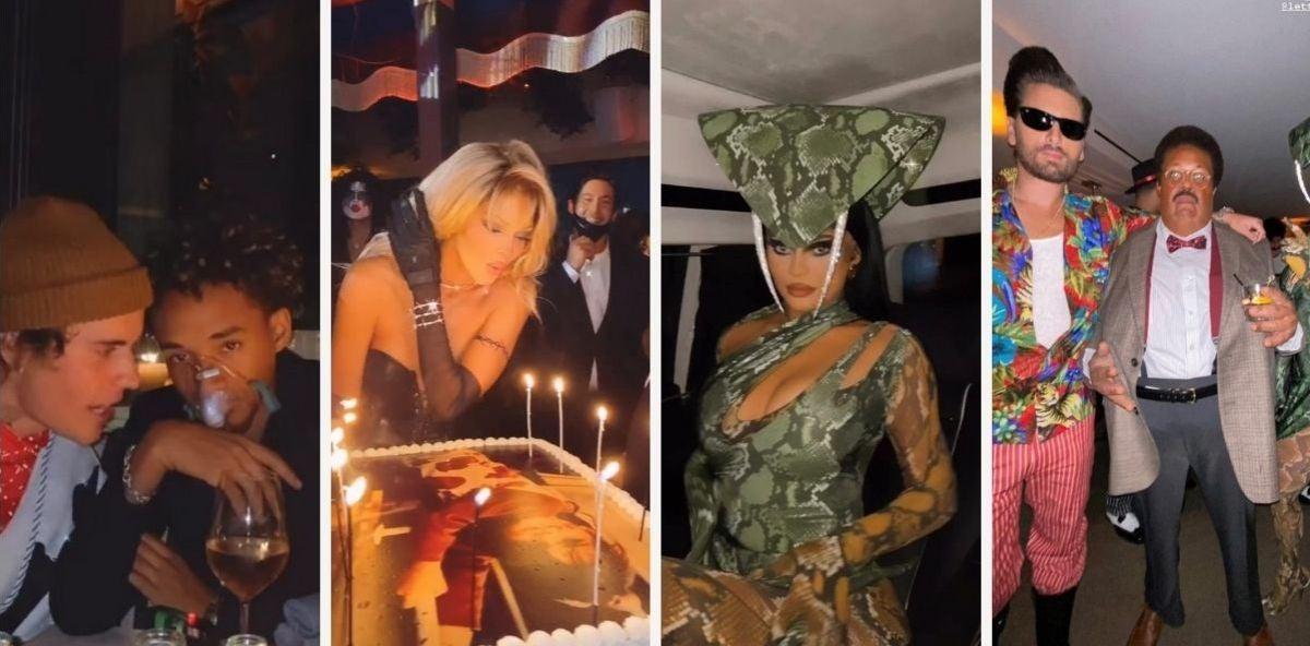 La fiesta de cumpleaños de Kendall Jenner
