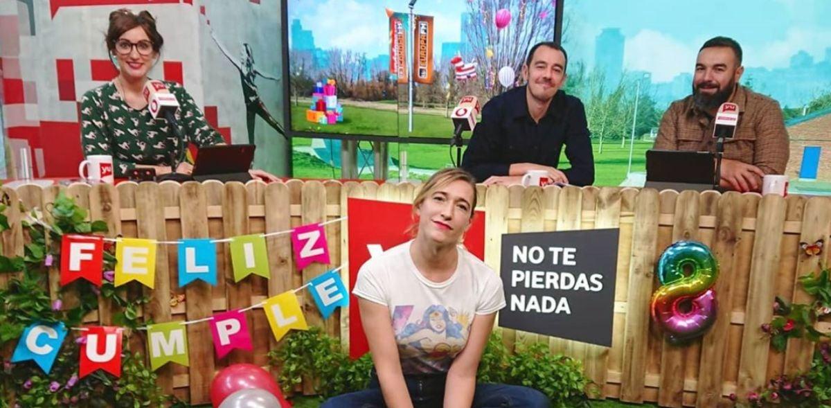 Abril Zamora en 'yu'