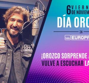 Orozco sorprende a Leonor en el Día Orozco Europa FM