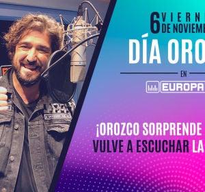 Orozco sorprende a Maite en el Día Orozco Europa FM