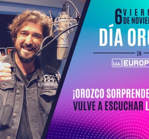Orozco llama a Raquel por el Día Orozco Europa FM
