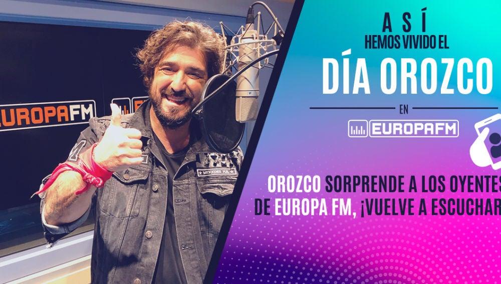 Así hemos vivido el Día Orozco en Europa FM